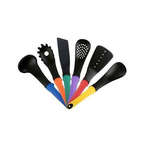Pl 6pc Utensil Set Multicolor