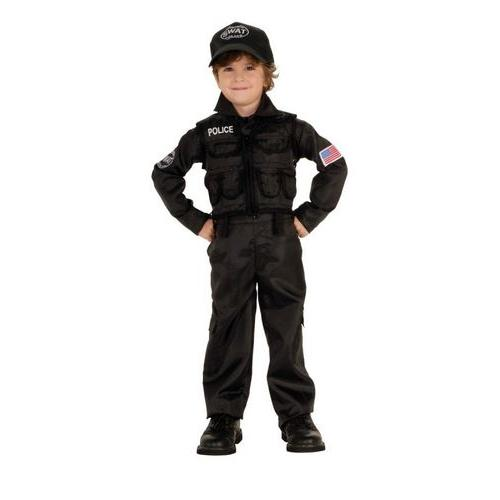 POLICEMAN SWAT CHILD SMALL