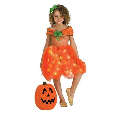 LITE UP PUMPKIN PRINCESS SMALL