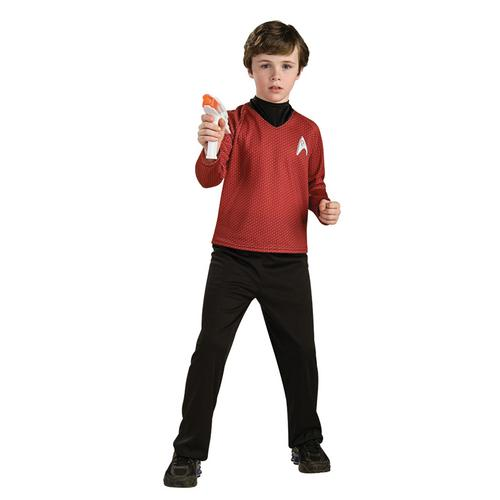 STAR TREK CHILD RED LARGE