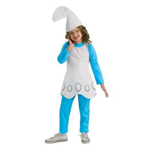 SMURFETTE CHILD LARGE
