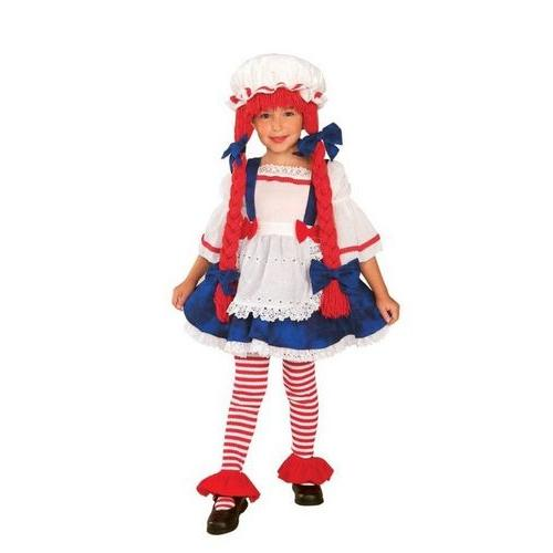 RAG DOLL GIRL TODDLER