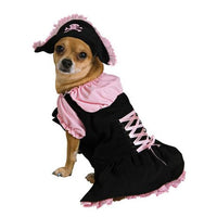 PET COSTUME PINK PIRATE LG