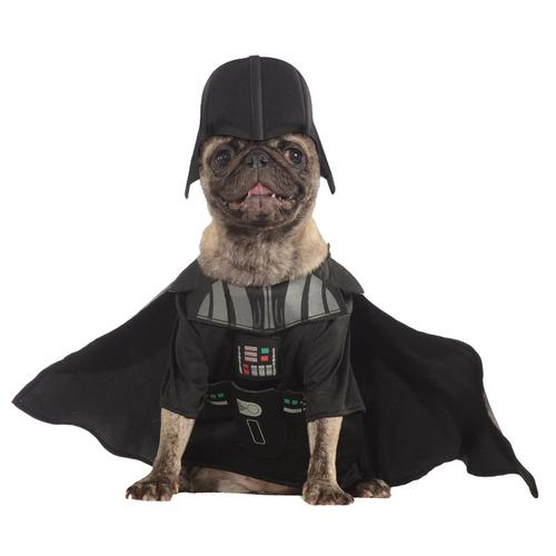 PET COSTUME DARTH VADER SM