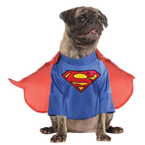 PET COSTUME SUPERMAN MEDIUM