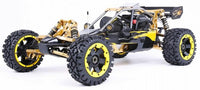 RUFAN Rovan Baja 5B 360 2WD 2T 36cc Gasoline Engine CNC Alloy Front Rear Arm Suspension Symmetrical Steering RC Truck