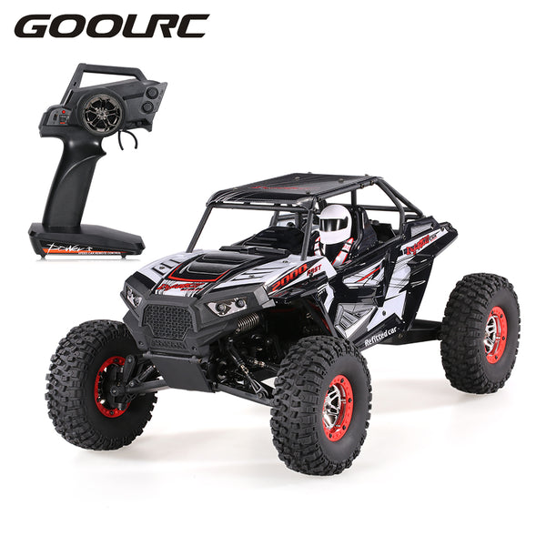 Remote Control Off-road RC Car Vehicles SUV 10428-B2 1:10 2.4G 4WD Electric Rock Crawler Buggy Desert Baja RC Cars RTR Boys Toys