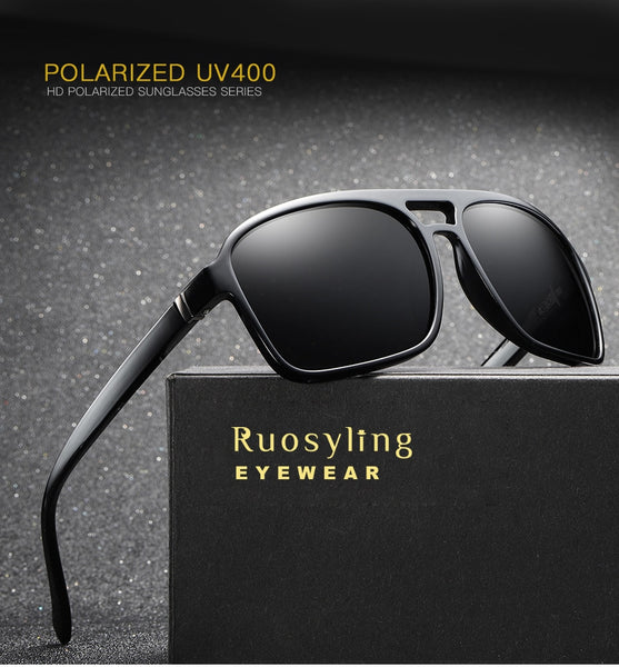 Ruosyling Polarized Sunglasses Women Men 2018 UV400 Goggle Sun Glasses Vintage Italy Sunglasses Gafas Lentes de sol Mujer