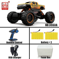 S.X.TOYS RC Car 4WD 2.4GHz Radio Remove Control Cars Machine On The Remote Control 4 Rubber Wheels RC Car 1:12 Model Kid Toys