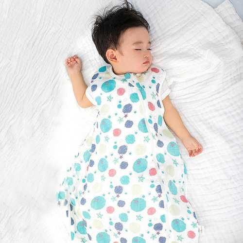 TUBENG Cute Baby Floral Sleeveless O-Neck Rompers Sleeping Bag