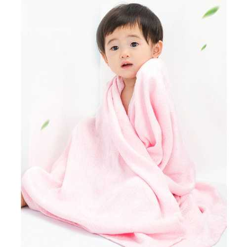 TUBENG Soft Baby Cool Bathing Wrap Robe Towel