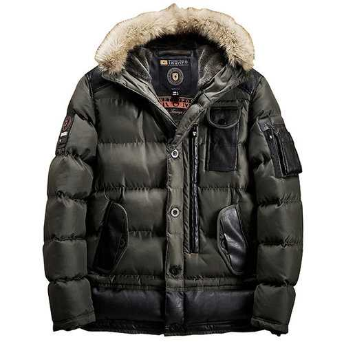 Patch Pockets Thick Warm Coat