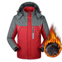 Mens Plus Size Winter Jackets Windbreaker