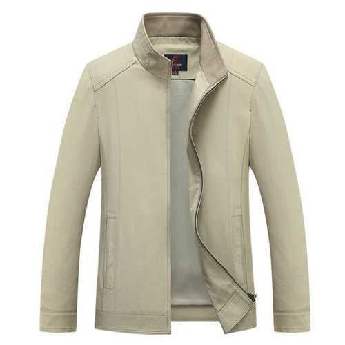 Thin Stand Collar Jackets