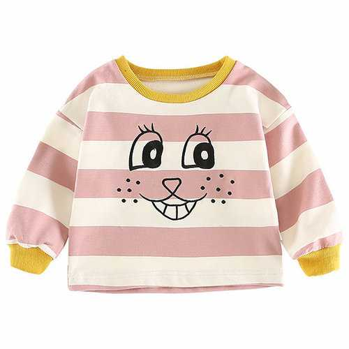Striped Baby Girls Sweaters