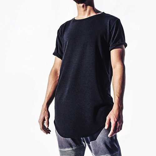 Brief Style Loose Fit Cotton T-shirts