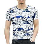 Flower Printed Casual T-shirts