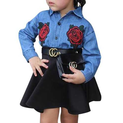 2Pcs Toddler Girls Clothing Set