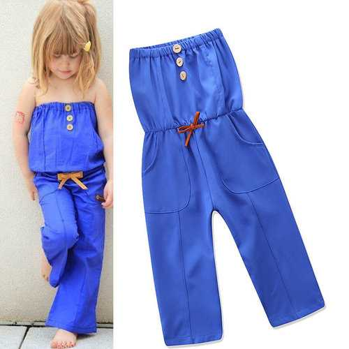 Spring Children Overall Pants