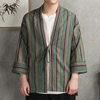 Retro Design Cotton Linen Coat