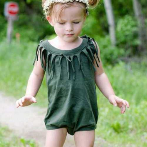 Unisex Baby Sleeveless Summer Romper