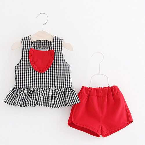 Soft Comfy Cotton Baby Summer Outfits Set