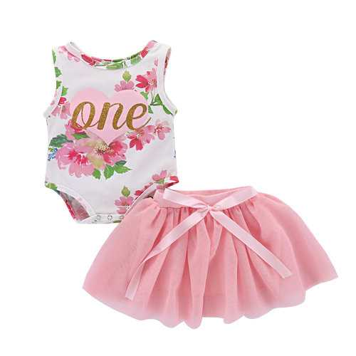 Newborn Baby Girls Clothing Sets For 0-24M