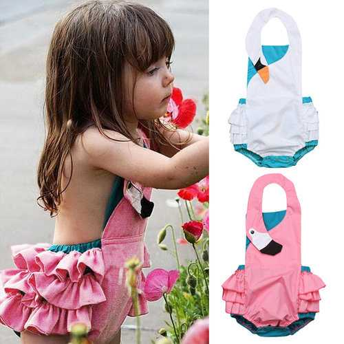 Swan Girls Swimwear For 0-24M