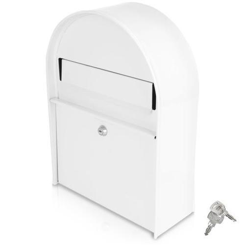 Indoor/Outdoor Wall Mount Locking Mailbox
