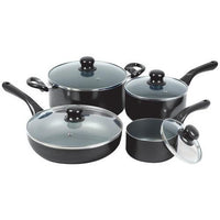 Starfrit(R) 33032-002-0000 Simplicity 8-Piece Cookware Set with Bakelite(R) Handles