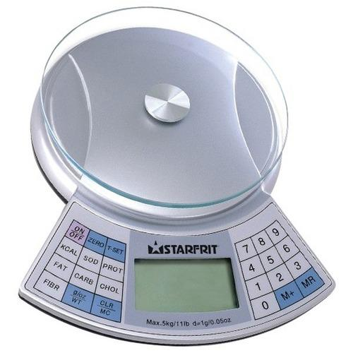 Starfrit(R) 93428-006-0000 11lb-Capacity Nutritional Scale