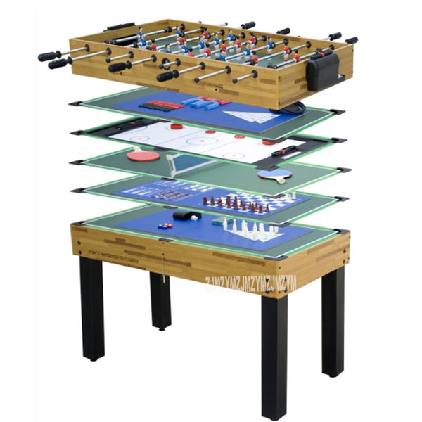 SUM-4524-12 12 Function in 1 Billiard Table Set Soccer Table Tennis Ice Hockey Chess Poker Bowling Dice Indoor Game Play Tool