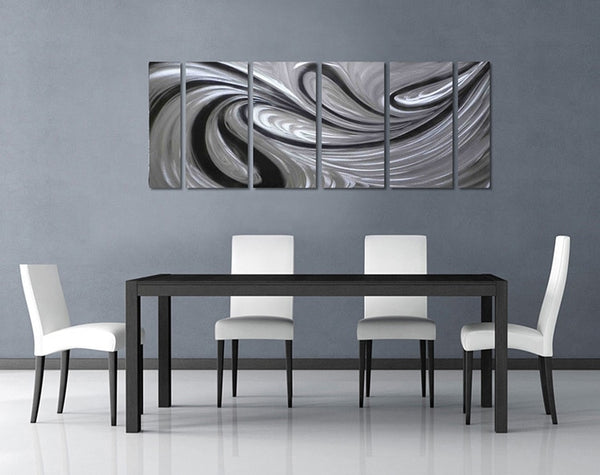 Sea Fire Excellent Metal Aluminum Wall Art Original Large Abstract Painting Modern Contemporary Sculpture Decorative Artwork