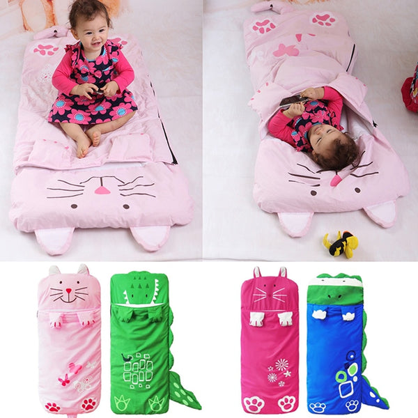 Sleeping Bags Bedding baby Kids sack infant Toddler winter cartoon animals sleep bag newborn bed wrap cute Baby Thick Warm Sacks