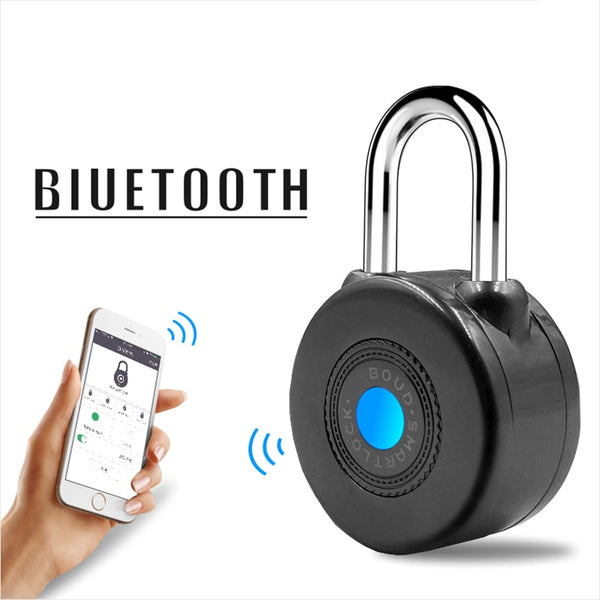 Smart Bluetooth Padlock Electronic Wireless Lock Keyless APP Control Bluetooth Password for Bike Motorcycle Home Door