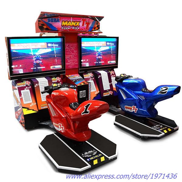 South Africa Coin Operated Amusement Machine Simulator Games Moto Driving Motorbike Car Racing Arcade Game Machine For Adults