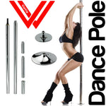 Stripper pole dance 360 Spin Professional Dance Pole Removable training pole X POLE Kit EASY Installation DHL Free Shipping