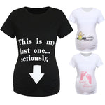 Summer Women T-shirts Slim Cute Print Maternity Nursing Tops Funny Short Sleeve Pregnancy T shirt for Pregnant Women Plus Size