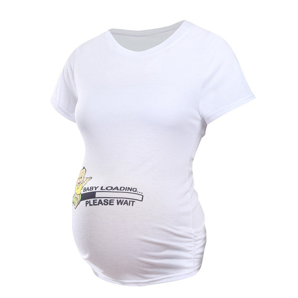 Cute Pregnancy Shirts Twins Maternity Clothes Tops Wh Funny Pregnancy Shirt