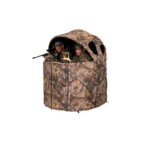 Deluxe Tent Chair Blind in Realtree Edge