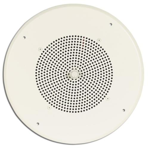 Speaker with Bright White Grille