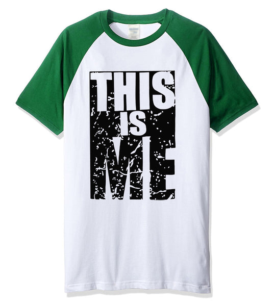 THIS IS ME funny t shirts printed 2019 summer short sleeve men's T-shits hip hop streetwear fitness harajuku brand clothes top