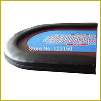 TP-04   Size 90*180CM, Foldable Casino tabletop, Three fold with waterproof fabric for Roulette Game