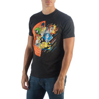 Looney Toons Looney Circle Group T-Shirt