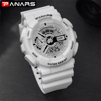 Top Luxury Brand G Style Sport Shock Watches Quartz LED Analog Clock Military Waterproof Diving Wrist Watch.