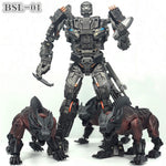 Transformation BSL-01 KO Version UT R-01 Steeljaw Lockdown Figure Toy W/3 Dogs