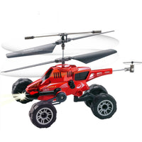 Remote Control Aircraft Electric Fall-Resistant Land and Sea Helicopter