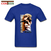 UFC Hope Star Fighter Khabib Nurmagomedov T shirt men Khabib Time The Eagle in Color Illustrations T-shirt MMA Streetwear tshirt