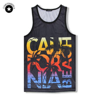 UNICOMIDEA Tank Top For Men Summer Top Sleeveless Funny Shirts 3d Print Fitness Brand Clothing Tee Shirt Homme Large Size