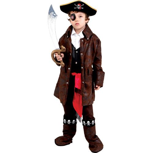 CARRIBEAN BOY PIRATE CHILD MED